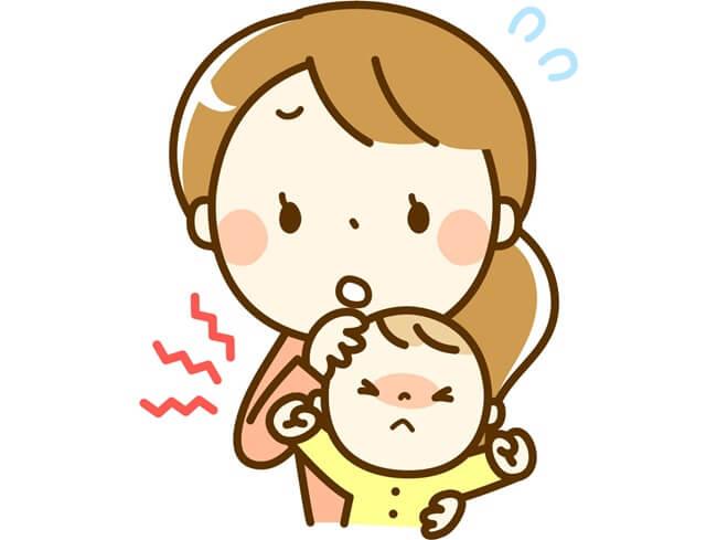 機嫌が悪い赤ちゃん