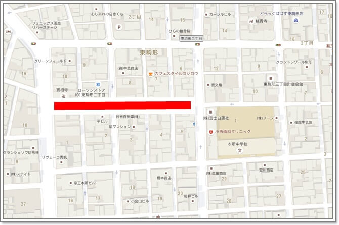 本所吾妻橋駅よりの路地が穴場