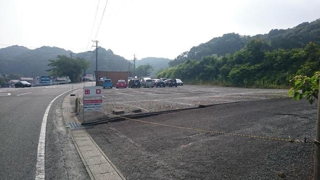 法多山周辺の駐車場