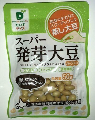 大豆イソフラボン_スーパー発芽大豆50g